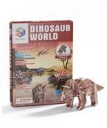 3D Dinosaur Puzzle, set of 5 - $25.99