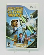 Star Wars: The Clone Wars - Lightsaber Duels (Nintendo Wii, 2008) - $4.92