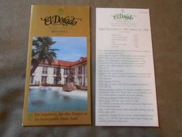 Old Vintage 1985 1986 El Dorado Park Hotel Vienna Souvenir Brochure Pric... - $9.99