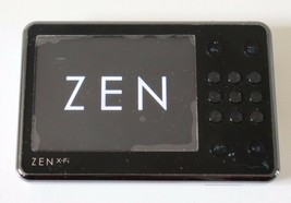 Used Creative ZEN X-Fi Black 16GB MP3 Player Expand Memory Built-in Speaker Set - $59.99