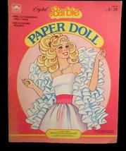 1983 Crystal Barbie Paper Dolls - $7.95