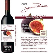 Black Mission Fig Aged 18 Years Italian Balsamic Vinegar 100% All Natura... - $45.17