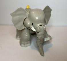 Fisher Price Little People Big Zoo Musical Elephant & Bird Toy So Fun! - $14.77