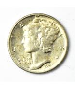 1941 P Mercury Silver Dime Rare Ten Cents Philadelphia - $11.42 CAD