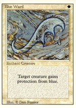 Magic: The Gathering 3rd Edition - Blue Ward - $0.29