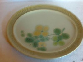 """Franciscan Pebble Beach Earthenware Green Large Serving Plater 13""""+ - $19.95"""