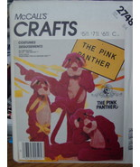 Sewing Pattern Child size 2-4 Pink Panther Costume UNCUT 2748 - $9.99