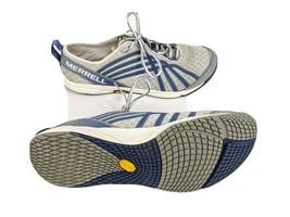Merrell Road Glove Dash II Womens US 9.5 EUR 40.5 Gray/Blue Running Shoe... - $19.73