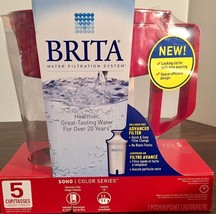 New Brita Small 5 Cup Metro Water Pitcher with Filter - BPA Free In Seal... - $29.69+