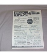 1966 National Band & Tag Co. 8 Page Fold-Out Catalog, Fish, Game, Small ... - $8.59