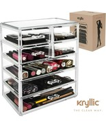 Acrylic organizer Set of 7 Large Drawers for Makeup jewelry Office Supplies. - $26.99
