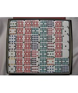 dominoes Double 18 Color-Dot Set 190 Prof Size Tiles New Free Shipping USA - $39.95
