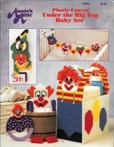 Under the Big Top Baby Set in Plastic Canvas Annie's Attic 87B42 Clowns ... - $4.99