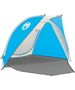Coleman Go-Shade Backpack Shelter 7x7 Shade Shelter Camp Beach 200003751... - $116.73