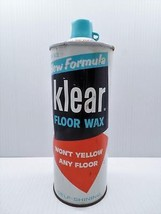 Johnson Wax Klear Floor Wax Self-Shining 27 oz 90% Full Prop Display Can... - $49.99