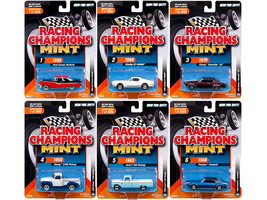 2017 Mint Release 3 Set B Set of 6 Cars 1/64 Diecast Model Cars by Racing Champi - $67.19