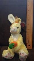 TY Beanie Baby - NIBBLIES the Yellow Bunny (6 inch) - MWMTs Stuffed Anim... - $3.99