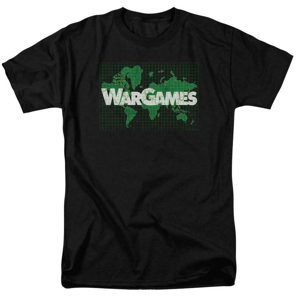 War Games t-shirt retro 80s Movie Brat Pack 100% cotton graphic tee MGM309