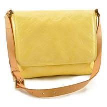 LOUIS VUITTON Vernis Thompson Street Shoulder Bag Lime Yellow M91071 8422 - $298.00