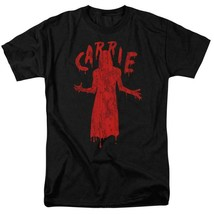Carrie T-shirt Blood Silhouette 1970's horror movie retro graphic tee MGM318 image 2