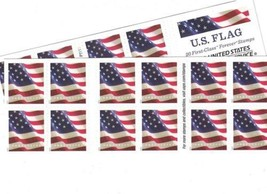 US Flag USPS Forever Stamps - 40 (two books of 20)  - $30.70