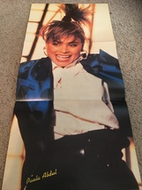 Paula Abdul Dino teen magazine poster clipping ripped jeans Teen Machine