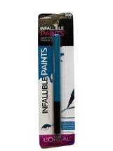New LOreal Paris Liquid Eyeliner Intrepid Teal #306 Infallible Paints Wa... - $4.64