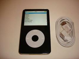Apple I Pod Classic 5.5 Gen. Cu St Om Black 80GB...NEW Hard Drive... - $158.39