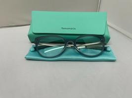 Tiffany & Co TF2191 8263 Opal Grey Rx Eyeglass Frames 51-18-140 Brand New - $135.44