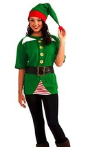 Forum Novelties Unisex Adult Jolly Elf Costume Kit, Green/Red, One Size - $34.56