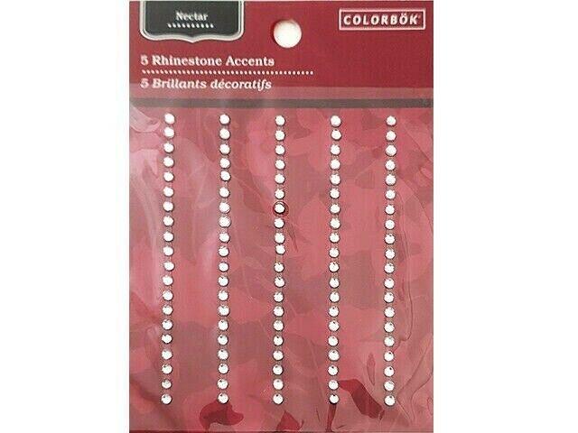 Colorbok Nectar Rhinestone Accent Stickers #63411