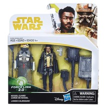 Star Wars Lando Calrissian & Kessel Guard Force Link 2.0 Action Figure 2... - $15.79