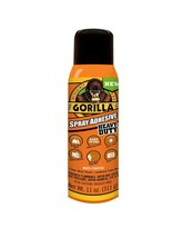 Gorilla Heavy Duty Spray Adhesive, Multipurpose and Repositionable, 11 oun - £12.73 GBP