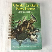 Writing Journal Handcrafted Recycled Book Ring Bound Chester Cricket's N... - $37.01