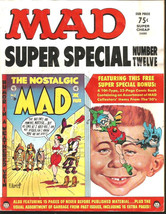 Mad Super Special #12 Mad Ec Publications Attached Ec Comic Inside Thick 1973 - $34.65