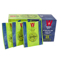 Wissotzky Green Herbal Tea Grapes Helth Tea 25 pcs Tea Bags - $14.85