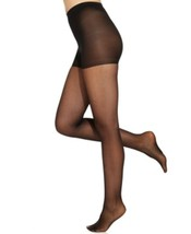 Ralph Lauren Tights Sz A Black Light Weight Control Top Nylon Blend Tigh... - $9.81