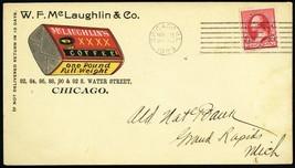 W.F. McLaughlin & Co Coffee Co 11/25/1893 Advertising Cover - Stuart Katz - $85.00