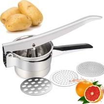 JmeGe Potato Ricer/Fruit and Vegetables Masher Food Ricer Large Capacity... - $24.74