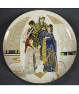 Judgment of Solomon Biblical Mothers Collector Plate Eve Licea Vintage - $39.95