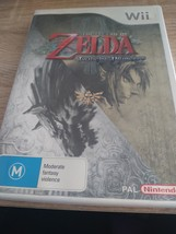 Nintendo Wii~PAL REGION The Legend Of Zelda: Twilight Princess image 1