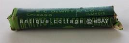 c1915 antique UNUSED quack medicine DEWITT'S bottle pills CATHARTIC LAXA... - $47.50