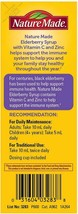 Nature Made Elderberry Syrup 3.8g with Vitamin C and Zinc for Immune Support - $16.69