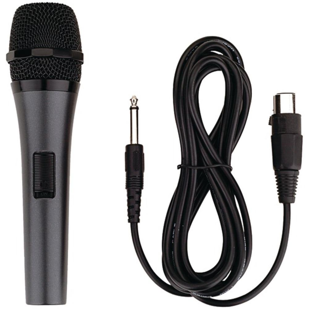 Karaoke USA M189 Professional Dynamic Microphone with Detachable Cord