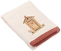 Saturday Knight Outhouses Hand Towel - $20.80