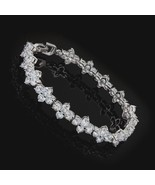 Bracelet Tennis Style Sparkles Shines and Glimmers Gorgeous Gift Brand New! - $22.95