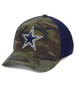 Dallas Cowboys NFL DCM Grunt Camouflage S/M Flexfit Fitted Cap Hat $30 - $28.49