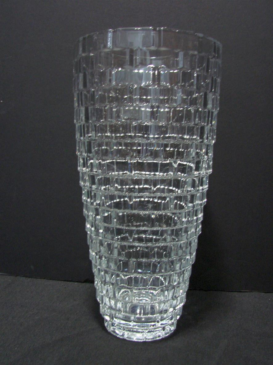 Primary image for Mikasa® - Palazzo Crystal Basket Weave 12 Inch Vase