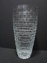 Mikasa® - Palazzo Crystal Basket Weave 12 Inch Vase  - $14.99