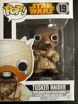FUNKO POP! STAR WARS TUSKEN RAIDER #19 VAULTED - $21.99